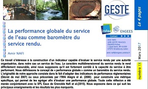 4 pages performance globale du service d'eau